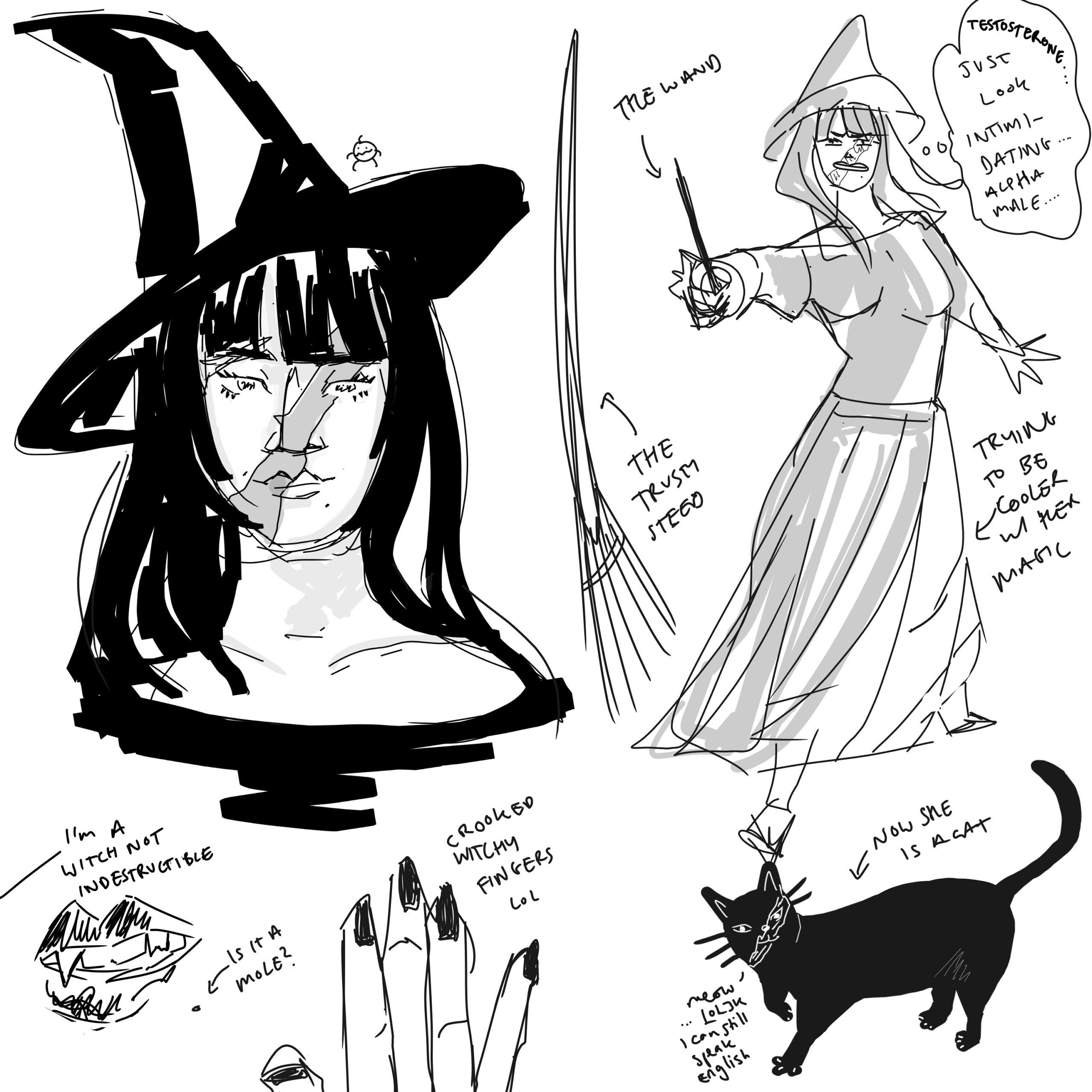 Anime Witch artwork