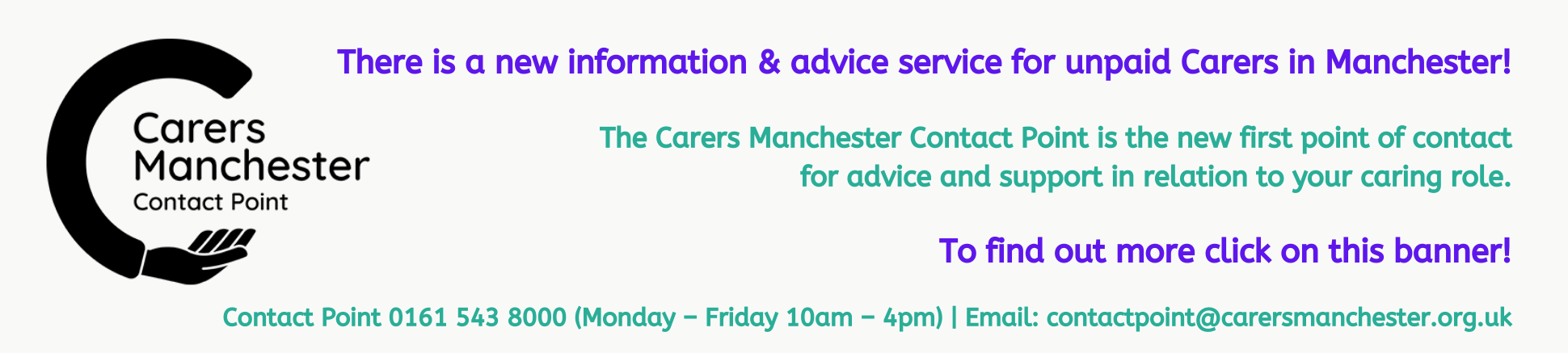 Carers Manchester Contact Point
