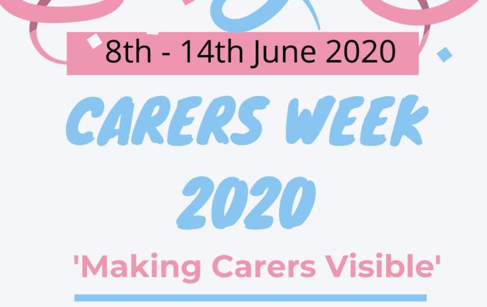 Carers Week general promotion key information